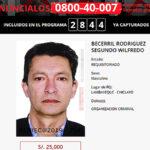 Hermano de Héctor Becerril aparece en lista de los más buscados