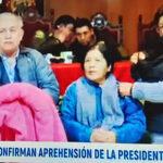 Bolivia: Detienen a la presidenta del Tribunal Supremo Electoral