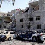 Al menos seis muertos por la explosión de tres coches bomba en Siria (video)