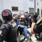 Policía restableció orden público tras desmanes causados por colectiveros
