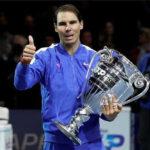 Finales ATP: Nadal vence a Tsitsipas y recibe trofeo de N° 1 del mundo