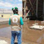OEFA supervisa derrame de relaves en provincia iqueña de Nasca