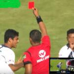 El VAR con expulsión de Rossel es usado por primera vez en el fútbol peruano (VIDEO)