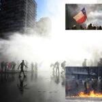Chile: Despliegan un millar de policías en la zona cero de las protestas