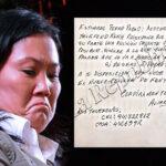Estos son los documentos que Keiko Fujimori envió a Chávarry