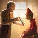 Roberto Benigni talla al nuevo Pinocho (video)