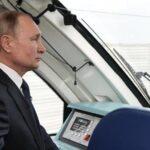 Putin inaugura la vía férrea entre Rusia y la península de Crimea