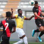 Sub 23: Selección peruana perdió 1-0 ante Ecuador en amistoso para el Preolímpico