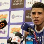 Wilder Cartagena declara a la prensa como jugador de Godoy Cruz