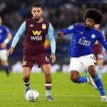 Copa Liga de Inglaterra: Leicester en partido de ida de las semifinales empata con Aston Villa (1-1)