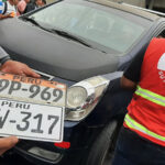 Intervienen más de 50 vehículos en operativo en el puente Atocongo