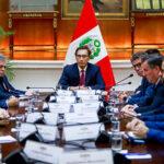 Presidente Vizcarra se reunió con Misión de Observación Electoral de la UE
