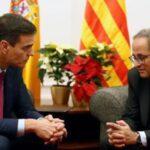 """España: Sánchez anuncia que se reunirá con Torra """"la primera semana de febrero"""""""