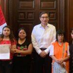 Vizcarra dialogó con organizaciones que luchan contra violencia a la mujer (VIDEO)