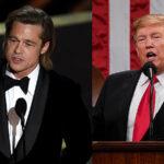 "Donald Trump critica a Brad Pitt: ""Es un tipo poco sabio"""