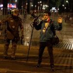 Agresiones a la prensa internacional en las protestas en Chile