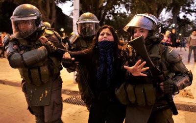 ChileProtestasPolicia2602