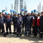 Firman histórico compromiso por la vida y la salud de trabajadores de construcción civil