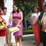Exministra Flor Pablo fue asaltada en la puerta de su casa en San Miguel