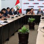 Ministra de Trabajo dialoga con dirigentes de sindicatos mineros