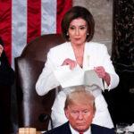 Presidenta de Cámara Baja rompe el discurso de Trump ante el Congreso (Video)