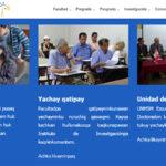 Portal web de la Facultad de Letras de San Marcos ahora en quechua
