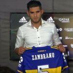 Carlos Zambrano podría debutar este domingo en la Superliga Argentina