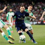 Liga Santander: Real Madrid pierde el liderato al caer 2-1 con Betis