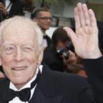 Muere en Francia Max von Sydow, actor fetiche de Ingmar Bergman (video)