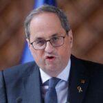 El presidente regional de Cataluña da positivo en coronavirus