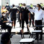 """Ministro Gastón Rodríguez: """"La salud del personal policial es prioridad en mi gestión"""""""