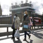 COVID-19: Los fallecidos diarios en el Reino Unido bajan a 449