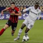 Bundesliga: Bayer Leverkusen de visita se impuso por 1-0 al Friburgo