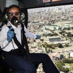 COVID-19: Ministro del Interior sobrevoló Lima y verificó inamovilidad social