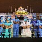 Gobierno reconoce a quienes luchan a diario contra COVID-19 (Fotos)