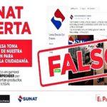 Sunat denuncia falsos anuncios de venta de suministros médicos