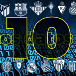 LaLiga Santander: Diez datos y curiosidades de la trigésima sexta jornada