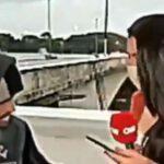Reportera de CNN es asaltada en vivo a punta de cuchillo (Video)