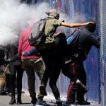 Manifestantes atacan la Embajada de EEUU en México (Videos)