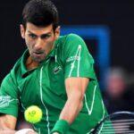El tenista Novak Djokovic dio positivo a la prueba de coronavirus