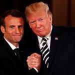 """Donald Trump: """"Todo lo que toca Macron se convierte en mier…"""""""