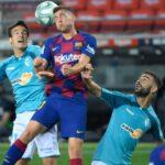 Barcelona se descarrila con final preocupante al caer 2-1 con Osasuna (VÍDEO)