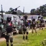 Cártel Jalisco Nueva Generación exhibe una caravana de blindados (Video)