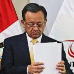 Fiscalía de la Nación presenta dos denuncias constitucionales contra Edgar Alarcón