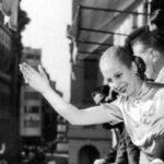 Argentina recuerda a Eva Perón con antorchas virtuales a 68 años de su muerte (video)