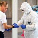 Perú está interesado en túnel desinfectante que usa Vladimir Putin en Moscú
