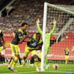 Premier League: Southampton en los descuentos empata 2-2 al Manchester United