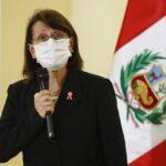 Covid-19: Ministra de Salud  advierte ligero repunte de casos (VIDEO)