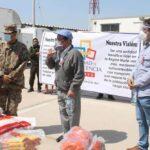 Solidaridad: Donan alimentos para pacientes covid-19 en Lambayeque