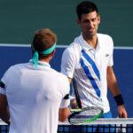 Master 1000 Cincinnati: Djokovic derrota a Sandgren y pasa a cuartos de final